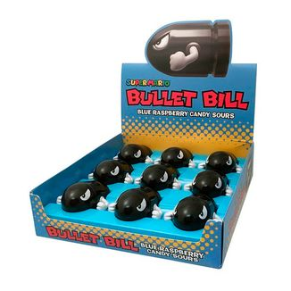 Super Mario Bros Candies Bullet Bill Sour Candies