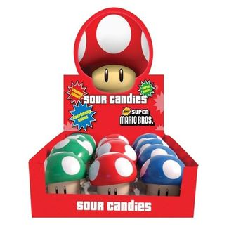 Super Mario Bros Candies Mushroom Sour Candies