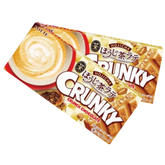 Crunky Chocolate Bar Hojicha Flavor with Milk
