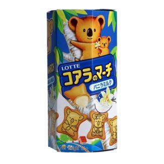 Koala Vanilla Lotte Flavored Cookies