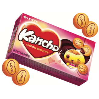 Kancho Chocolate Filled Cookies