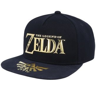 Gorra Snapback The Legend Of Zelda Metallic Logo