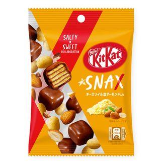Kit Kat Snax de queso soja y almendras
