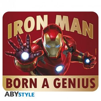 Alfombrilla Born to be a Genius Iron Man