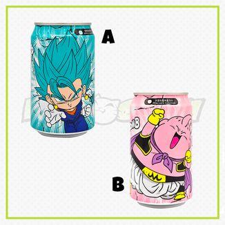 Refresco Dragon Ball Ocean Bomb Sparkling Water - Manzana - Melocoton