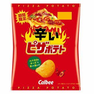 Calbee Spicy Pizza Potatoes