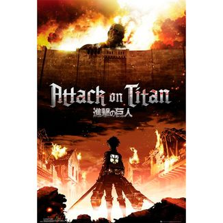 Attack on Titan Poster Season 1 Key Art 91 x 61 cms
