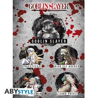 Poster Characters Goblin Slayer 52 x 38 cms