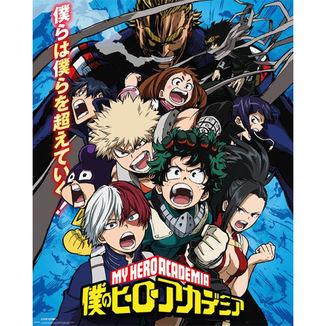 Poster My Hero Academia Temporada 2 40 x 50 cms