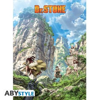 Poster Stone World Dr Stone 52 x 38 cms