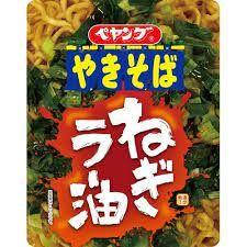 Ramen Noodles Yakisoba Spring Onion Chili Oil Peyoung