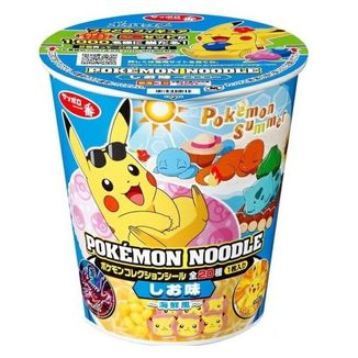 Ramen Noodles Pokemon Seafood Sapporo Ichiban
