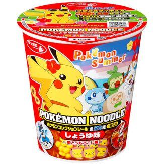 Ramen Noodles Pokemon Soy and Corn Sapporo Ichiban