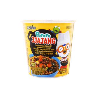Ramen Noodles Pororo Jjajang Salsa Frijol Negro