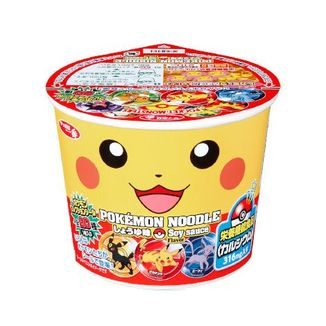 Ramen Noodles Sabor Carne Pikachu Pokémon