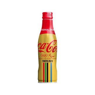 CocaCola Gold Design Soft Drink