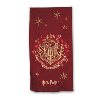 Toalla Microfibra Escudo Hogwarts Harry Potter 70 x 140 cms