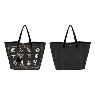 Bolsa Back to Hogwarts Black and Gold Harry Potter