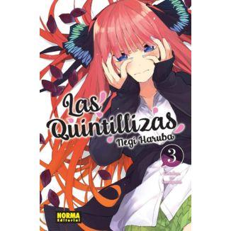Las Quintillizas #03 Manga Oficial Norma Comics