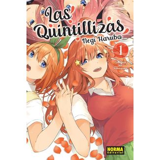 Las Quintillizas #01 Manga Oficial Norma Comics