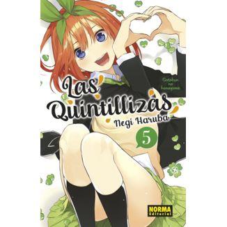 Las Quintillizas #05 Manga Oficial Norma Editorial (spanish)