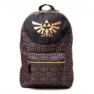 The Legend of Zelda Black & Gold Backpack