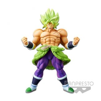 Figura Broly SSJ Full Power Dragon Ball Super Chokoku Buyuden