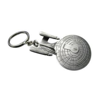USS Enterprise NCC-1701-D Star Trek Keychain