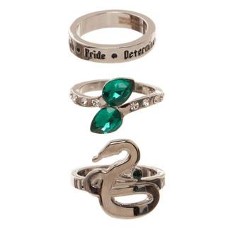 Set anillos Slytherin Harry Potter