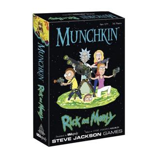 Munchkin Rick y Morty *Edición Inglés*