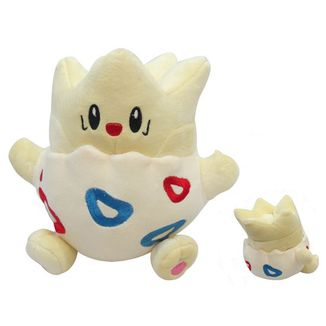 Togepi Plush Doll Pokemon 25 cms