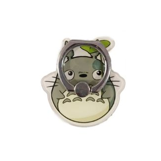 Totoro with leaf Phone Support Frame