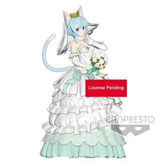 Figura Wedding Sinon Sword Art Online Code Register EXQ