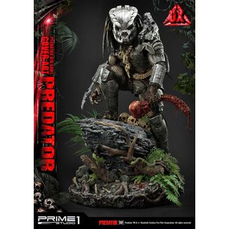 Estatua Big Game Cover Art Predator Deluxe Version Predator