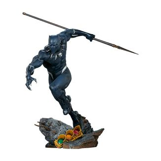 Estatua Black Panther Avengers Assemble Marvel Comics