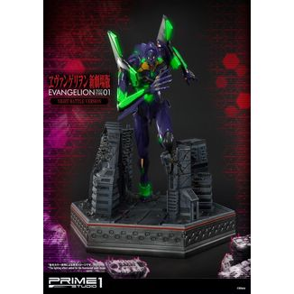 EVA Test Type-01 Night Battle Version Statue Neon Genesis Evangelion