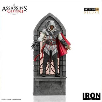 Estatua Ezio Auditore Deluxe Assassins Creed II Art Scale