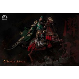 Estatua Guan Yu Elite Edition Three Kingdoms Five Tiger Generals Series