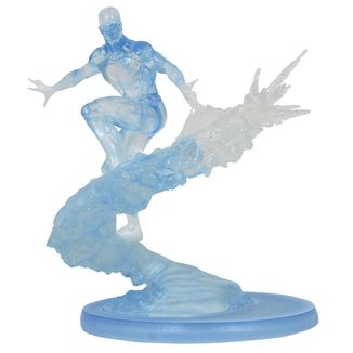 Estatua Iceman Marvel Comic Premier Collection