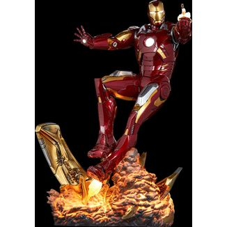 Estatua Iron Mark VII Los Vengadores Marvel Comics