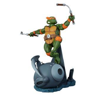 Estatua Michelangelo Tortugas Ninja PCS