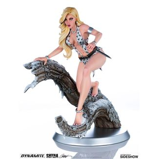 Estatua Sheena Arctic Variant by J Scot Campbell Women of Dynamite