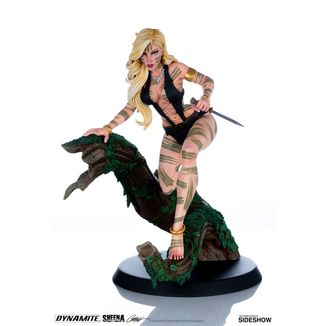 Sheena Night Stalker Variant by J Scott Campbell Figure Women of Dynamite