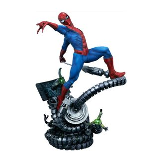 Estatua Spider-Man Marvel Comics Premium Format