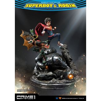 Estatua Superboy & Robin DC Comics