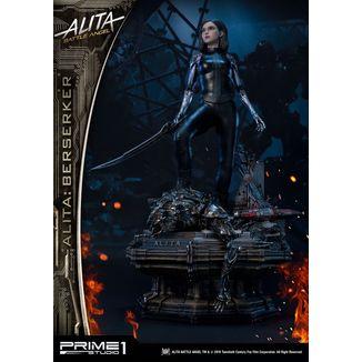Alita Berserker Statue Battle Angel Alita