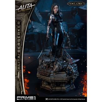Alita Berserker Deluxe Version Statue Battle Angel Alita
