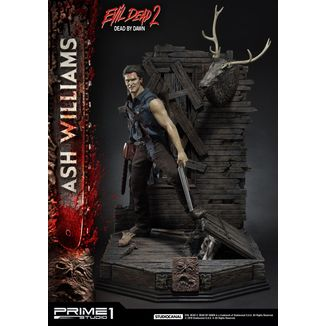 Ash Williams Statue Evil Dead