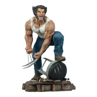 Estatua Logan Marvel Comics Premium Format