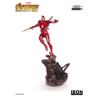 Estatua Iron Man Mark XLVIII Vengadores Infinity War BDS Art